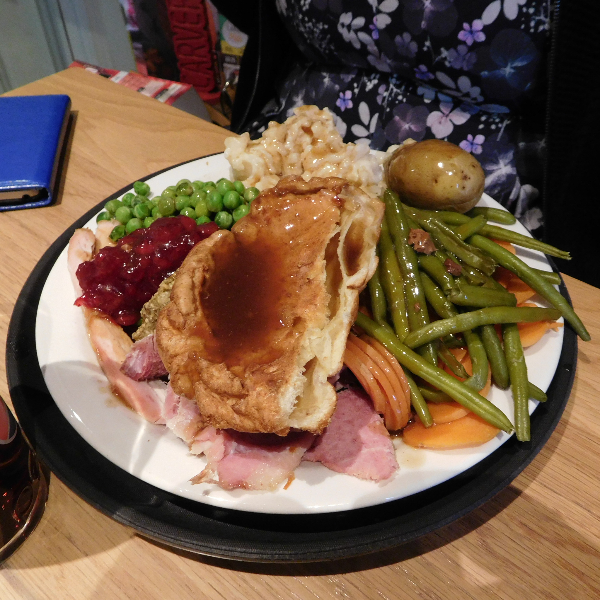 Christine's Carvery Gammon and Turkey