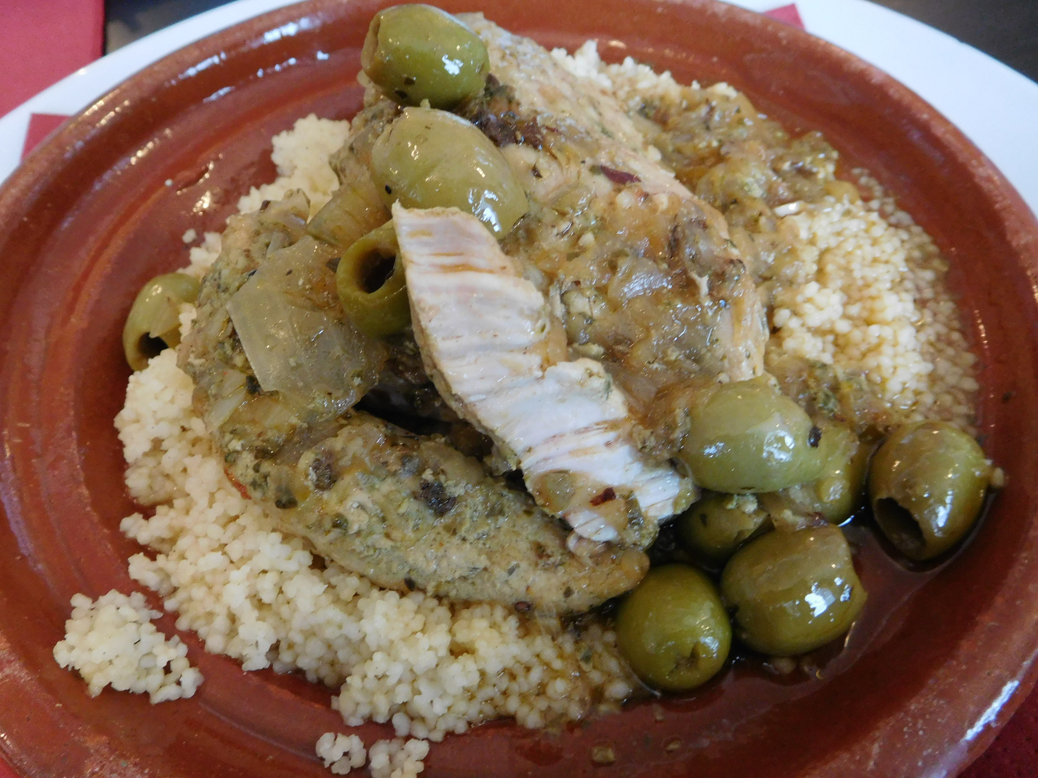 Mediterranean Chicken Tagine