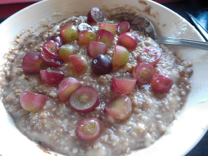 2017-04-25 Breakfast.  Porridge
