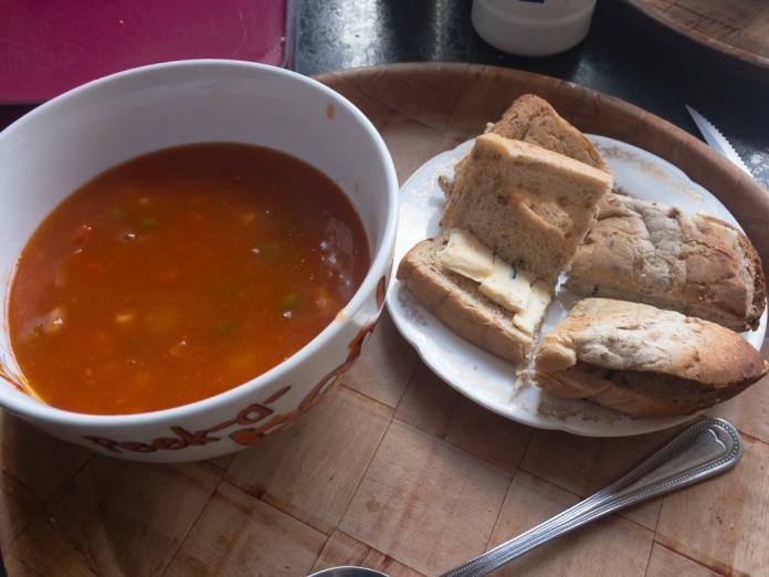 2017-05-04 Dinner. Vegetable Soup