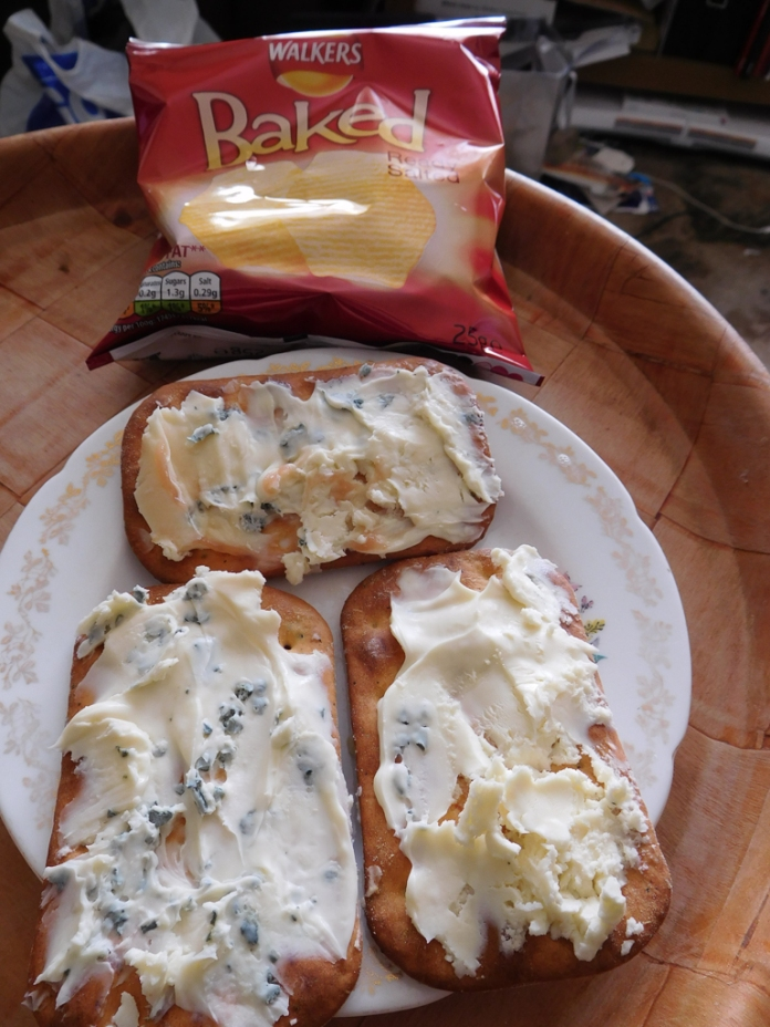2017-05-11 Lunch. Ciabatta and Cheese