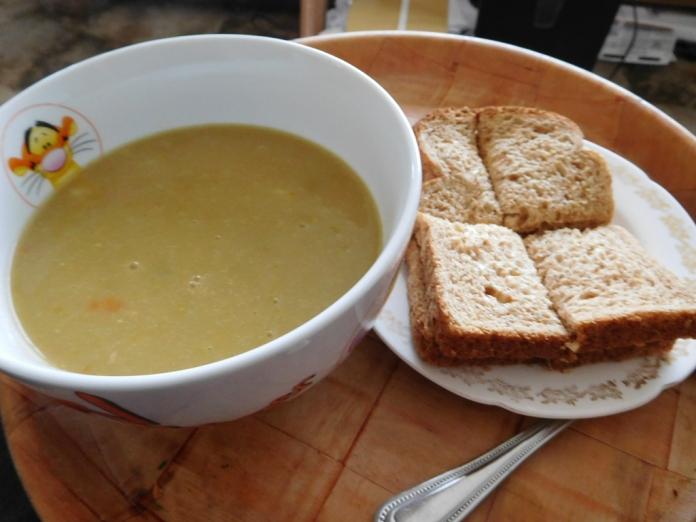 2017-05-23 Dinner. Soup