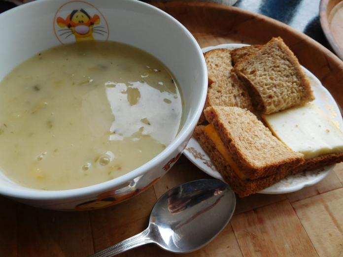 2017-05-24 Dinner. Soup and Sandwiches