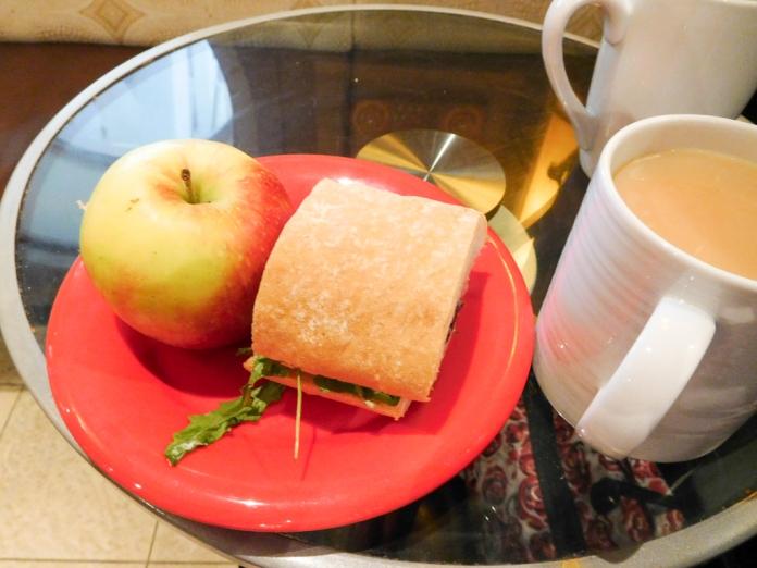 2017-05-28 Lunch in Promenade Cafe